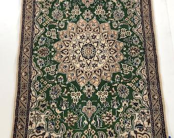 "001111 Nain Persian Oriental Runner Rug 6'9""X2'1"""