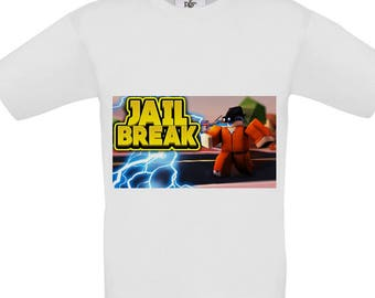 Kids T-Shirt - Inspired By the popular Roblox Game Jail Break