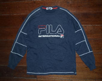 Vintage Fila International Biglogo 90s Crewneck sweatshirt
