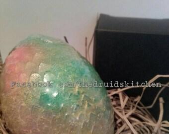 Dragon Egg Soap. Made with Frankincense, Sandalwood and Myrrh Essential Oils.