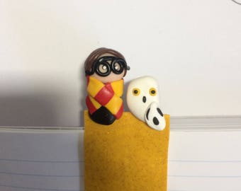 Bookmark with Harry potter and the Owl