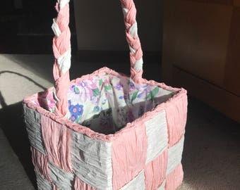 Easter Basket - Paper Ribbon