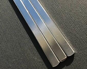 25 Aluminum Bracelet Blanks - 12 gauge Stamping Blanks - Bracelet Blanks - Aluminum Blanks - Metal Blanks - Aluminum Bracelet Blanks