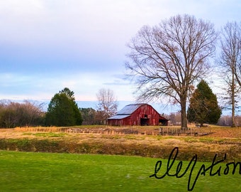 Old Country Barn Print