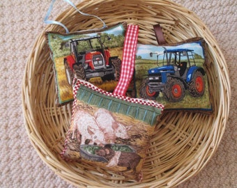 Lavender Sachet Trio - Down on the Farm