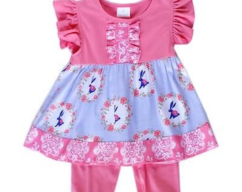 Easter Bunny Ruffle Outfit