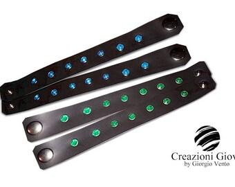 Various Leather bracelets fantasies