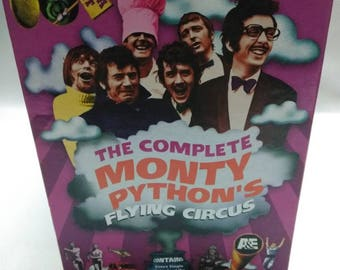 The complete Monty Pythons Flying Circus DVD collection