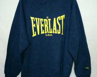 Rare!! Everlast U.S.A Sweatshirts X-LARGE