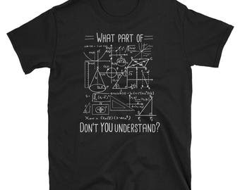 What Part Don't You Understand - Funny Engineer Shirt -Civil Engineering Shirt - Civil Engineer shirt - Engineering Gift - Engineering Stude