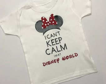 Mens disney world tshirt