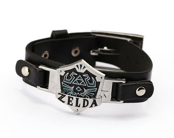 Legend of Zelda Leather Wristband / Wrist Cuff