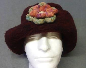 Felted Wool Fashion Hat