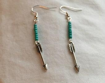 Arrow Charm Earrings
