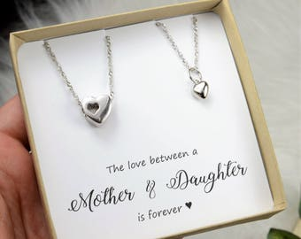 Mother Daughter Gift  Mom Gift For Mom Valentines Gift For Mom Gift From Daughter Mom Mother Daughter Jewelry Mother Daughter Gift