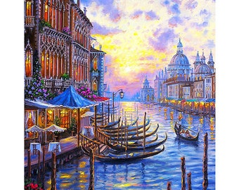 Landscape Diamond Painting Square Diamond Embroidery Kits Pictures of Crystals Home Deocr