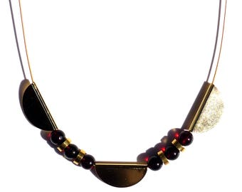 Necklace with Dark Amber