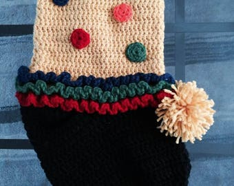 Clown Stocking for Holiday, Christmas or Anyday