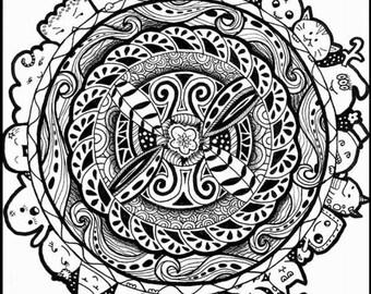 Zentangle Limited Edition Art