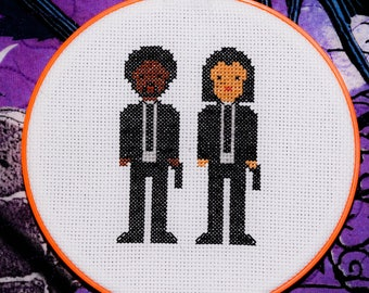 Pulp Fiction Cross Stitch