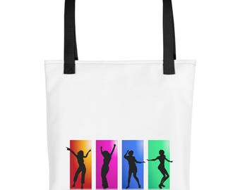 Tote bag with an alive feel