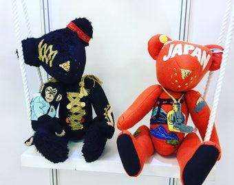 MJ teddy bear / JAPAN teddy bear