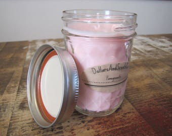 Natural Soy Candle | Mason Jar Candle | Handmade, Hand-poured Candle | 8 OZ