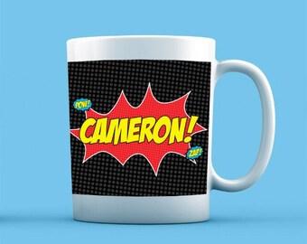 Superhero Mug - Personalised