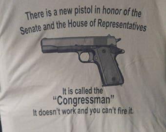 Congressman Gun Tee
