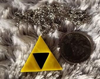 Triforce Charm Necklace