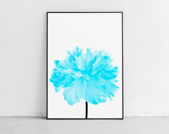 Aquamarine Art, Flower Decor, Wall Art, Flower Art, Art Prints, Wall Decor Bedroom, Wall Decor, Affordable Art, Art Print Best Selling Items