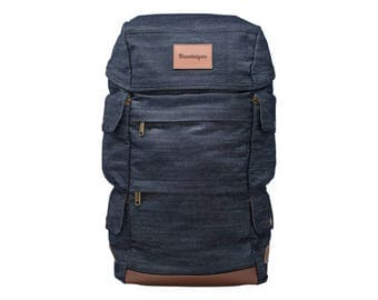 Presidio Backpack with Custom Leather Patch
