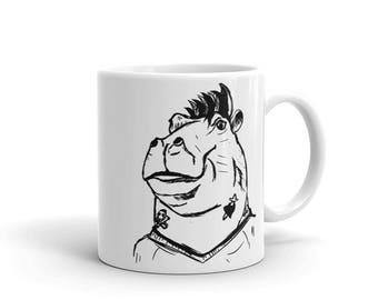 BadNimals: Hippo, but BAD. (Mug)