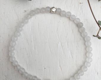 Bracelet Quartz Bracelet 4 mm