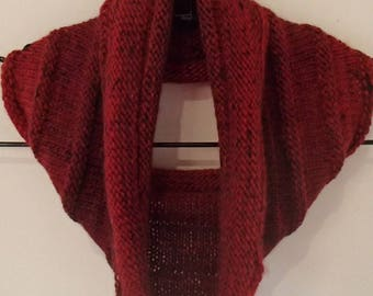 Wool and Silk Cowl