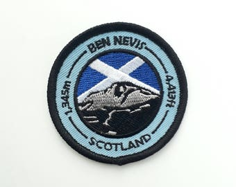 Ben Nevis Embroidered Patch