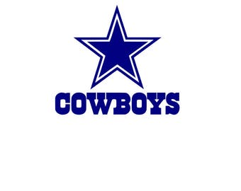Dallas Cowboys Logo SVG Only   Football