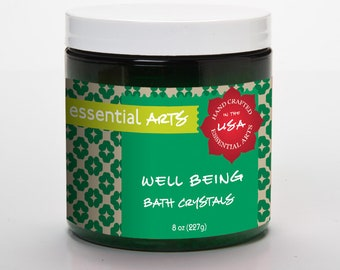 Well Being Aromatherapy Bath Crystals