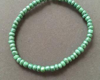 Minty Green Stretchy Bracelet