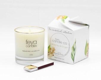 White Tea & Ginger Feya Candle