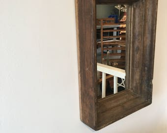 Old Wooden mirror Very nice