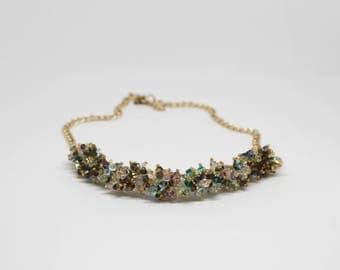 Statement Necklace with Preciosa Crystals
