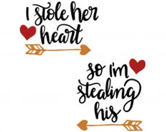 I stole her heart-so I'm stealing his DECAL