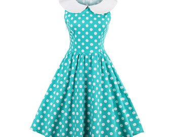 Vintage dress style 50-60's