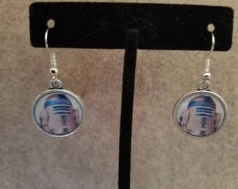 R2D2 Dangle Earrings