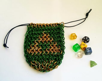 "Chainmaille Dice Bag - ""Adult Wallet"""
