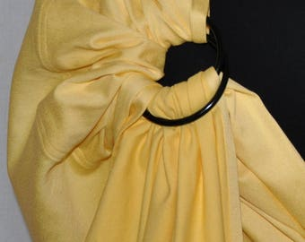 Baby Ring Sling Sling Yellow 180-240 x 70 cm custom made with/without appli