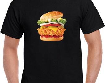 Crispy Chicken High Def T Shirt