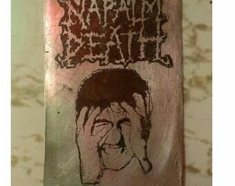 NAPALM DEATH Metal Patch