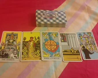 Five-Card Tarot Reading